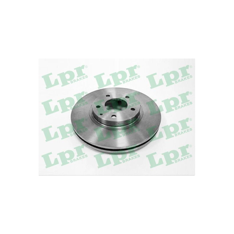 Jeu de 2 disques de frein avant LPR [M5027V]