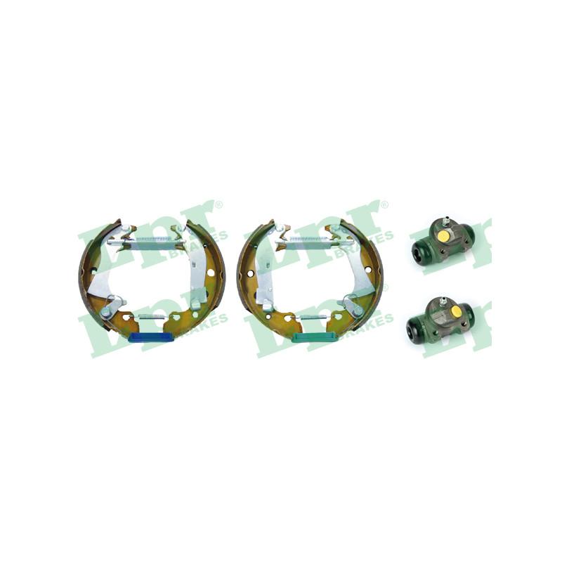 Jeu de mâchoires de frein LPR OEK370 pour ALFA ROMEO 33 1,5 4x4 - 95cv