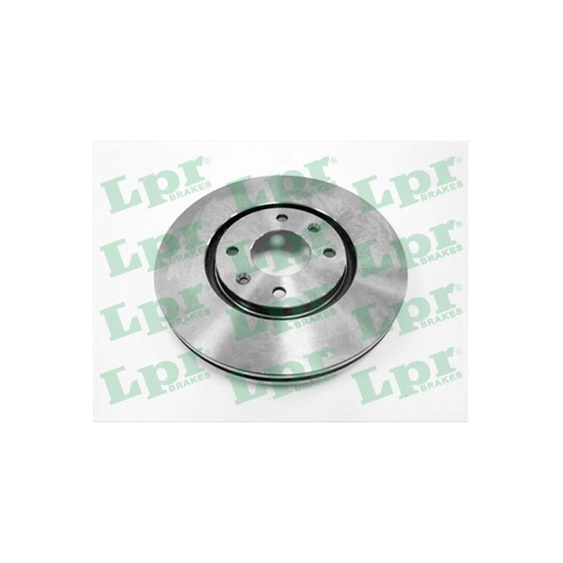 Jeu de 2 disques de frein avant LPR [P1211V]