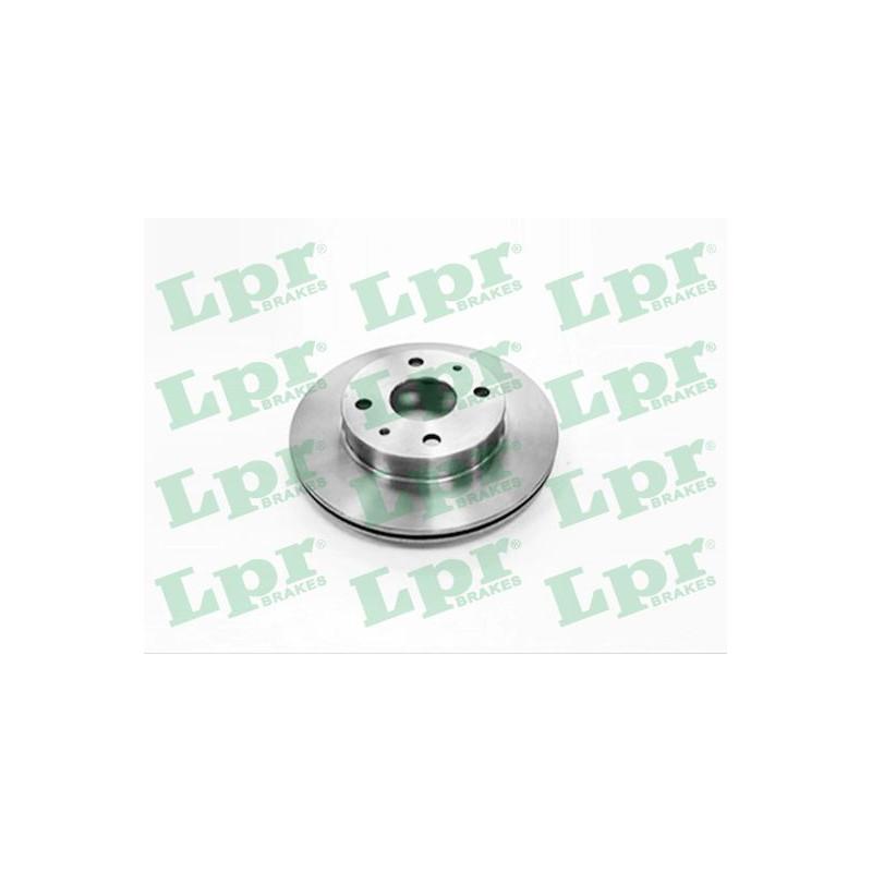 Jeu de 2 disques de frein avant LPR [T2034V]