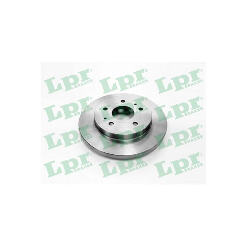 Jeu de 2 disques de frein avant LPR [T2035P]
