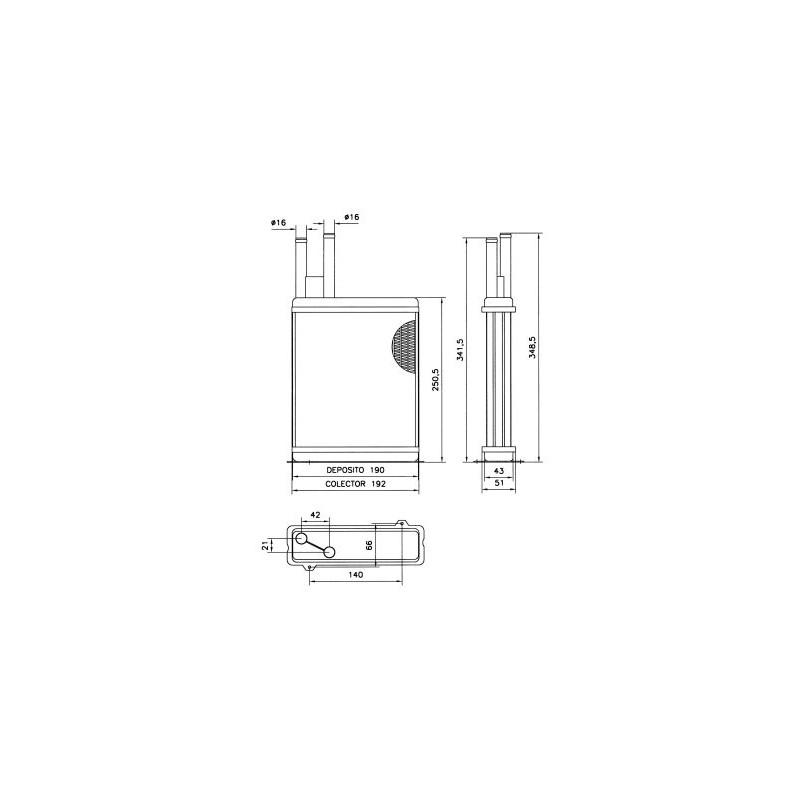 Système de chauffage NRF [52066]