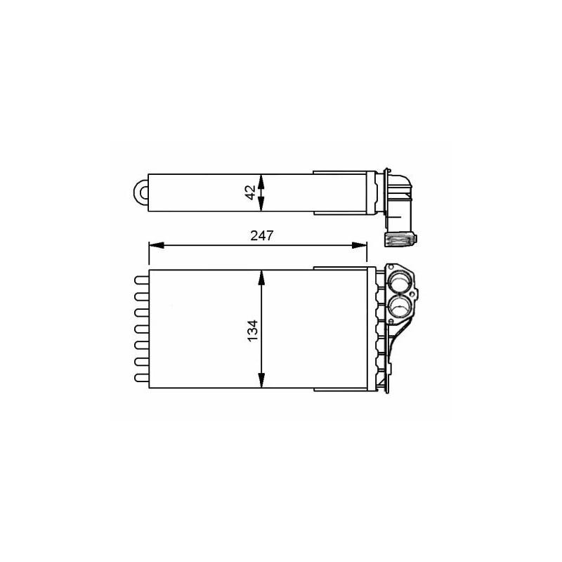 Système de chauffage NRF [53557]