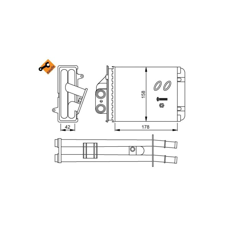 Système de chauffage NRF [53641]