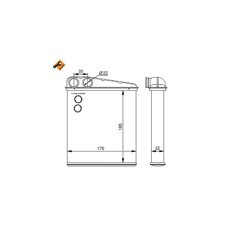 Système de chauffage NRF [54271]