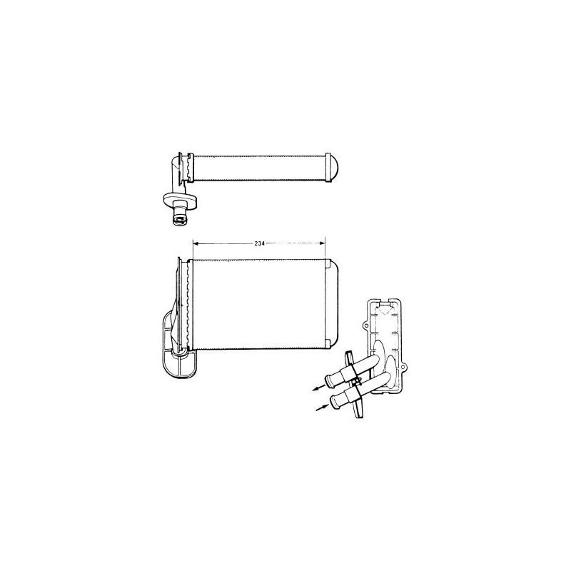 Système de chauffage NRF [58622]