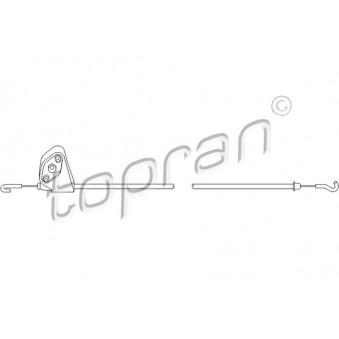 Tirette à câble, verouillage porte avant droit (à l'unité)