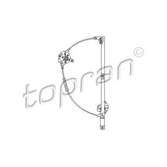 Lève-vitre avant droit (à l'unité) TOPRAN