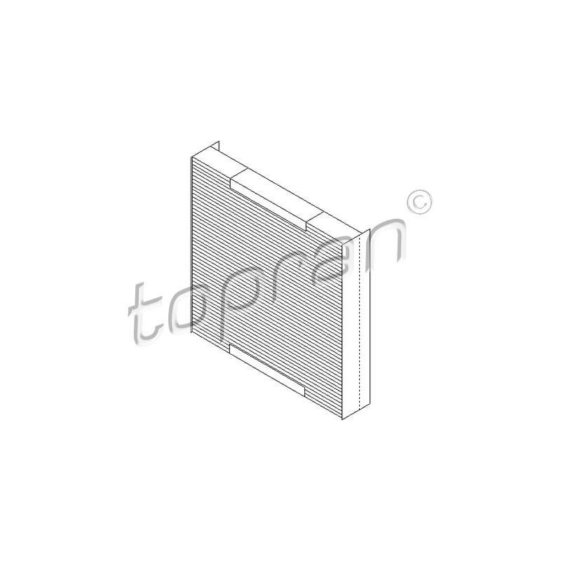 filtre d 39 habitacle opel meriva a 1 4 16v twinport gpl 90cv partauto. Black Bedroom Furniture Sets. Home Design Ideas