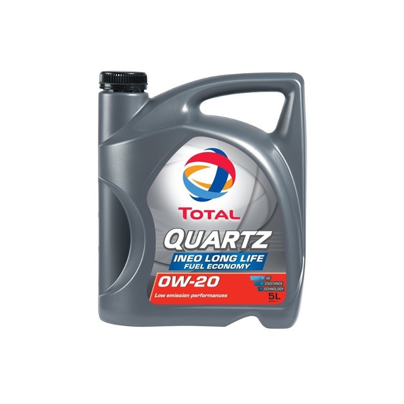 Huile moteur QUARTZ INEO LONG LIFE 0W20 - 5 Litres
